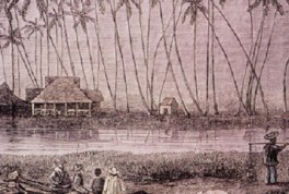 Helumoa_with_the_Apuakehau_stream_in_the_foreground