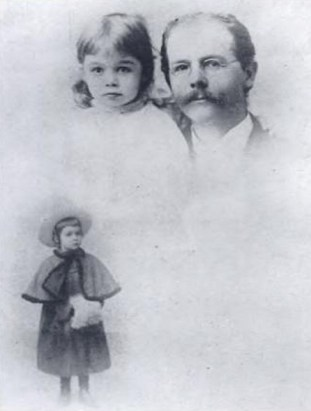 Henry Castle and his daughter Dorothy-HMCS