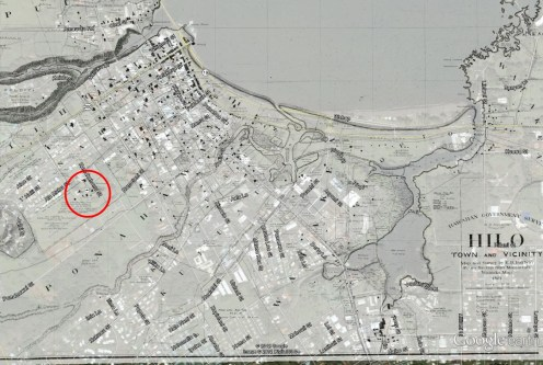 Hilo_Boarding_School-Hilo-1891_Map-overlay_on_Google_Earth
