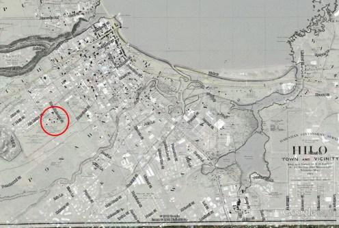 Hilo_Boarding_School-Hilo-1891_Map-overlay_on_Google_Earth