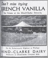Hind-Clarke Dairy Drive Inn Ad-Adv-June 16, 1933