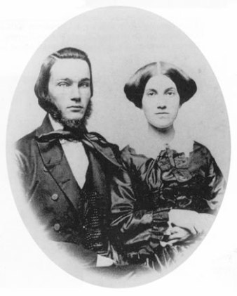 Hiram Bingham II and Minerva Clara Brewster-1866