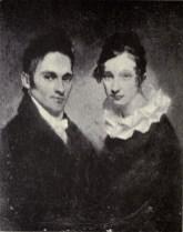 Hiram_and_Sybil_Moseley_Bingham,_1819-head of Pioneer Company