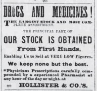 Hollister & Co -Saturday Press-February 25, 1882