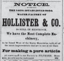 Hollister & Co -Saturday Press, February 25, 1882