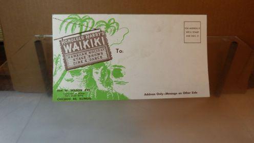 Honolulu Harry's Waikiki-mailer
