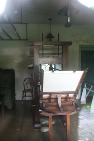 Honolulu-Mission-Houses-Press-Interior
