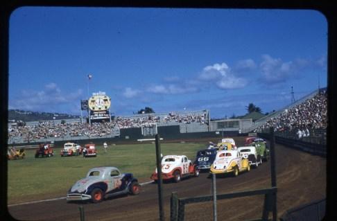 Honolulu Stadium Stock Car racing-(fulton)