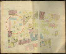 Honolulu and Vicinity-Dakin-Fire Insurance- 06-Map-1906-noting cathedral, convent and Sacred Hearts School FortStreet