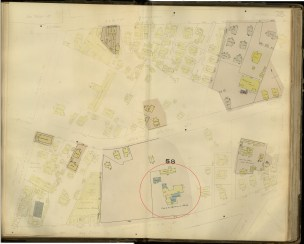 Honolulu and Vicinity-Dakin-Fire Insurance- 28-Map-1906_the_YWCA_Homestead-Castle_Estate-(former_Kawaiahao_Seminary_Site)