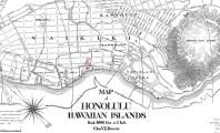 HonoluluDoveRandMcNally-map-1912-portion-Waikiki_Church-noted