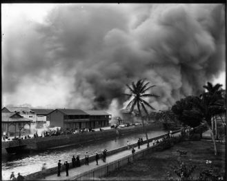 Honolulu_Chinatown_Fire_of_1900_(26),_photograph_by_Brother_Bertram