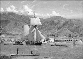 Honolulu_Harbor-USS_Dolphin-(Massey)-1826
