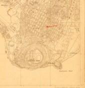 Honolulu_USGS_Quadrangle-Honolulu-1927-(portion_noting_Puu_O_Kaimuki)