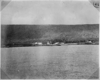 Hoopuloa Landing-taken from anchorage-1904