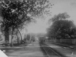 Horse-drawn trolley on Beretania St., Honolulu-PP-38-5-008-1890