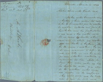 Ii to Cooke April 10, 1843-1