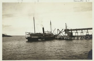 InterIsland_steamer_docked_at_Ahukini_Landing_Kauai_Hawaii_USC