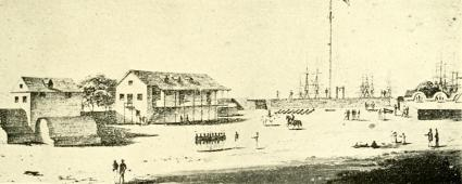 Interior_of_the_Fort,_Honolulu_Harbor-1830s-1840s