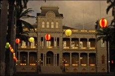Iolani Palace Lanterns