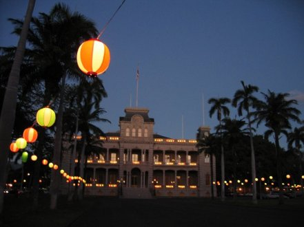 Iolani_Palace_Lanterns