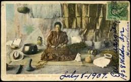 Island Curio Postcard-UH-Manoa
