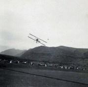 First flight in Hawaii 1-1-1911 in Honolulu (Moanalua)