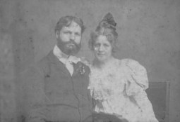 James Bicknell Castle (1855–1918) and Julia Matilda White (1849–1943)