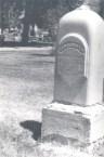 James Hunton-grave stone