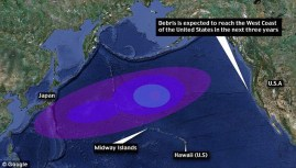 2011-Japan_Tsunami (2011) Marine Debris-simulation map