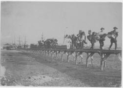 Japanese immigrants landing at Honolulu Harbor-1893