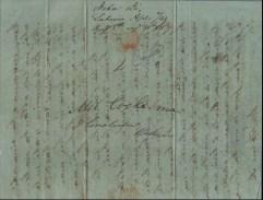 John Papa Ii to Amos Cooke April 6, 1843-cover