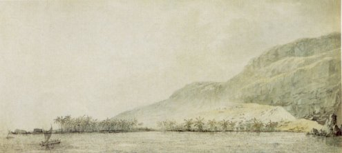 John_Webber_-_'Kealakekua_Bay_and_the_village_Kaawaloa',_1779