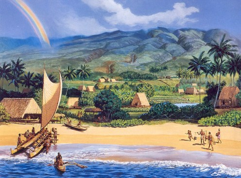 Ka'anapali 200 Years Ago-(HerbKane)
