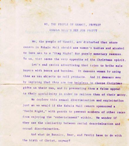 Kahala Mall-Christmas Stag Night-leaflet-ilind-1971