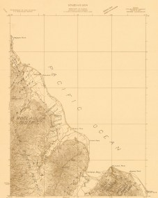 Kahana_USGS_Quadrangle-Kahana-1929