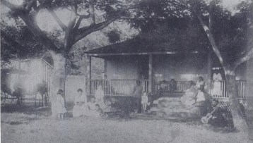 Kahili_Valley,_Mrs._Emma_Beckley's_house,_photograph_by_Eduard_Arning,_1884