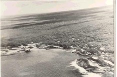 Kailua Bay aerial 1940s