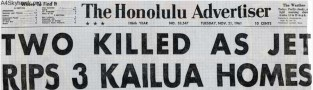 Kainalu_Crash-Honolulu Advertiser, November 21, 1961