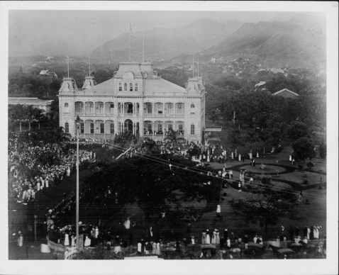 Kalakaua Funeral-Iolani_Palace-PP-25-6-011-00001