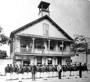 Kalakaua Hale - Police Station 1886