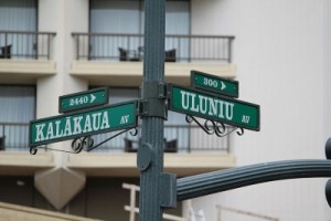 Remembering, Through Street Names