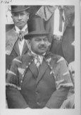 Kalanianaole, Jonah Kuhio, 1871-1922-wearing_Order_of_Kamehameha regalia-(HSA)-PP-97-2-008