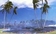 Kalapana Lava flow-USGS-1990
