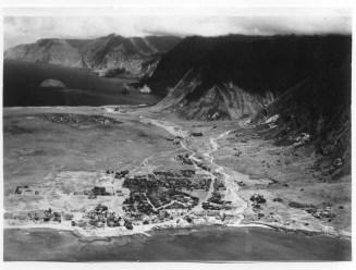 Kalaupapa peninsula on the island of Molokai
