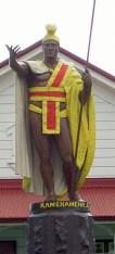 Kamehameha Statue-Kapaau-front
