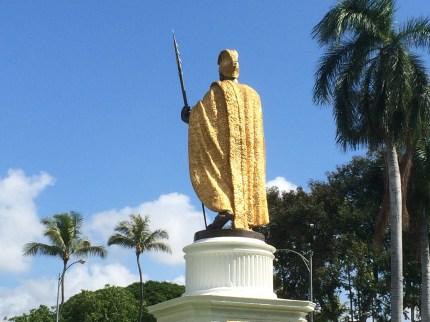 Kamehameha Statue_Honolulu_back