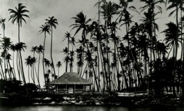 Kamehameha V's summer residence at Helumoa also known as The Royal Grove.
