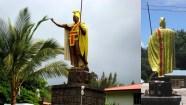 Kamehameha_Statue-Kapaau-front_and_back
