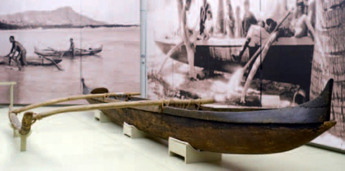 Kapiolani Canoe-Na Mea Makamae o Hawaii-National Museum of Natural History- 2004–05